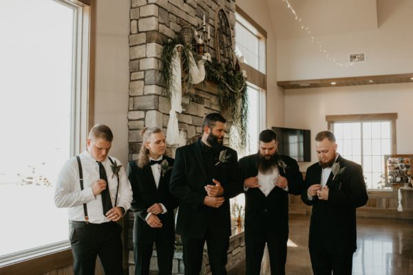 Wasatch Wing and Clay Weddings - Groomsmen